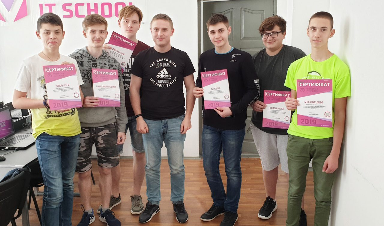 Vinnytsia IT School26.05.19-1