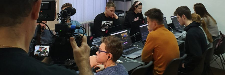 Backstage New IT School & ТЕЛЕВІЗІЯ