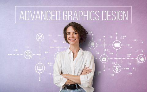 Початок кар'єри графічним дизайнером